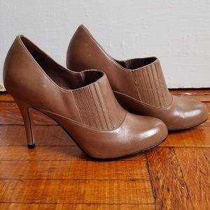NEW Cole Haan + Nike taupe dress booties
